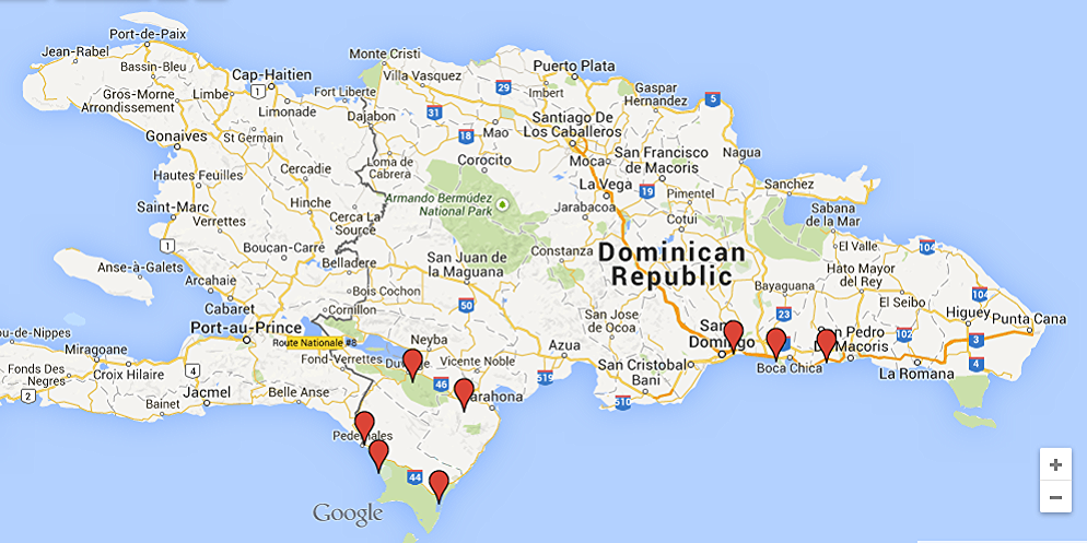 Maps Update 20001193 Map World Dominican Republic Dominican Republic loca